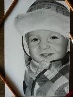 kreslený portrét dieťa  www.facebook.com/portrety.obrazy https://instagram.com/lubomir.franciak/ http://www.portrety-obrazy.sk/