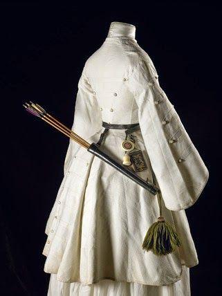 In the Swan's Shadow: Ladies' Archery Jacket, 1855