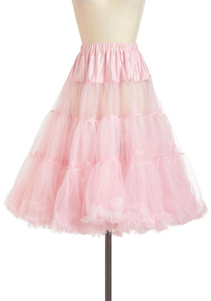 Va Va Voluminous Petticoat in Cotton Candy, #ModCloth And this is for under my wedding dress!