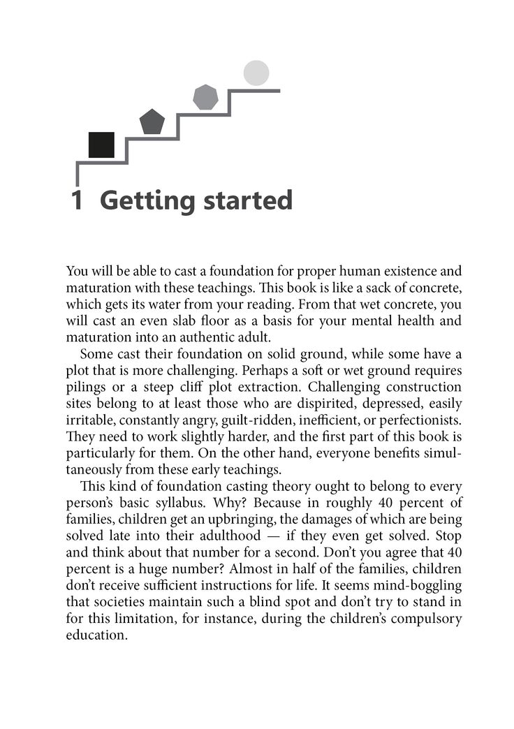 First Chapter and first page of BEST AFTER - Basic Instructions on Being a Human. You may read first 20+ pages here: bit.ly/1LtF3D8