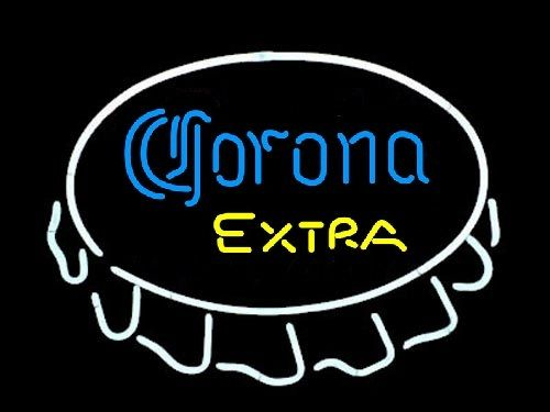"""CORONA EXTRA BEER BAR CLUB NEON LIGHT SIGN (16"""" X 13"""") - Free Shipping Worldwide - Lee Neon Signs Online Store - Free Shipping Worldwide"""
