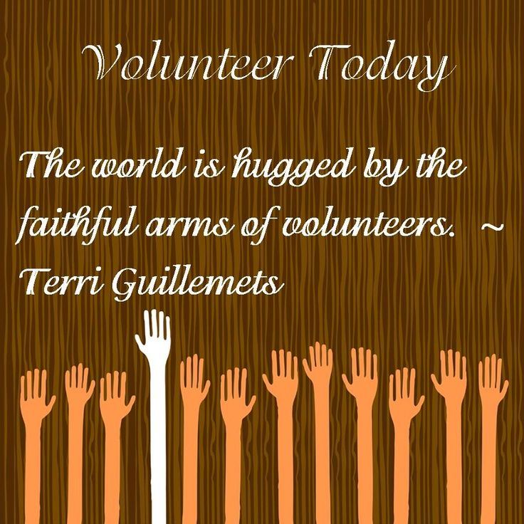 8 best VolunCHEERing images on Pinterest Project 3, Volunteers and