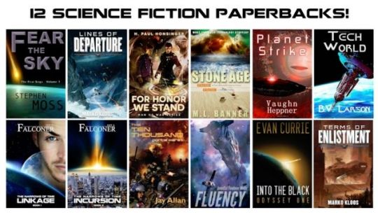 Win 12 Science Fiction Paperbacks Worth $200! Expires:  May 15, 2015 Eligibility:  Word Wide