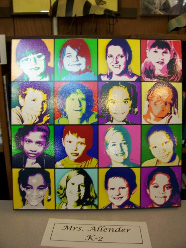 Marsh PTO / FACE - Classroom Art Auction Projects 2010