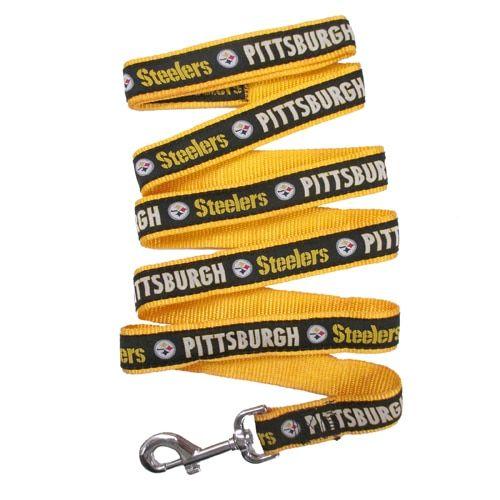 First Pittsburgh Steelers Ribbon Dog Leash