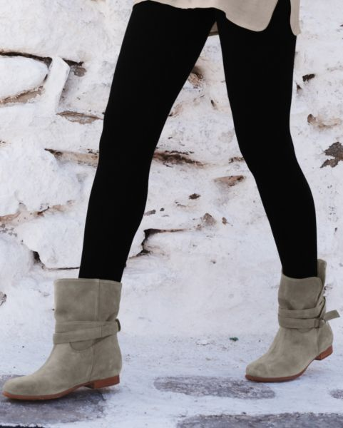 Jayda Suede Short Boots | Garnet Hill