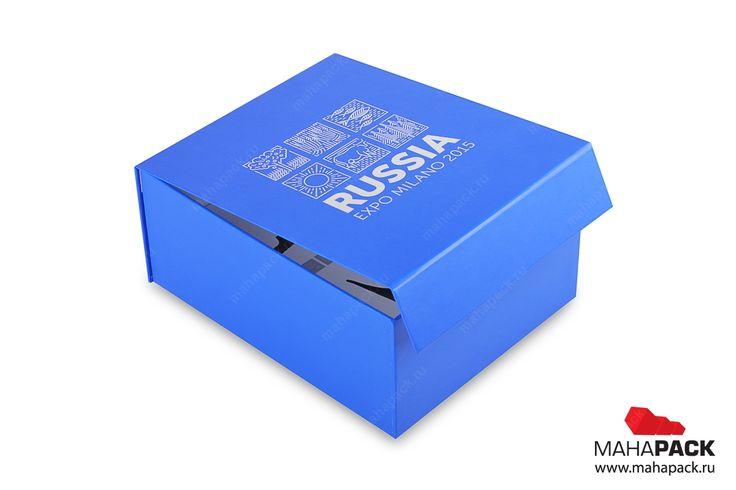 Кашированная коробка на магните для сувенирной посуды под заказ   Разработка фирменной упаковки   Mahapack.ru - изготовление индивидуальной упаковки