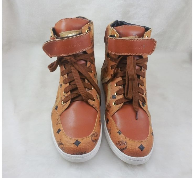 MCM Leather Trainers Onqnh