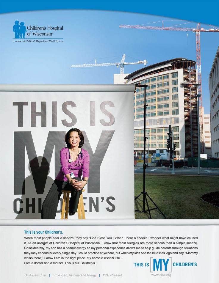 Children's Hospital of WI print ad | Core Creative, Inc.