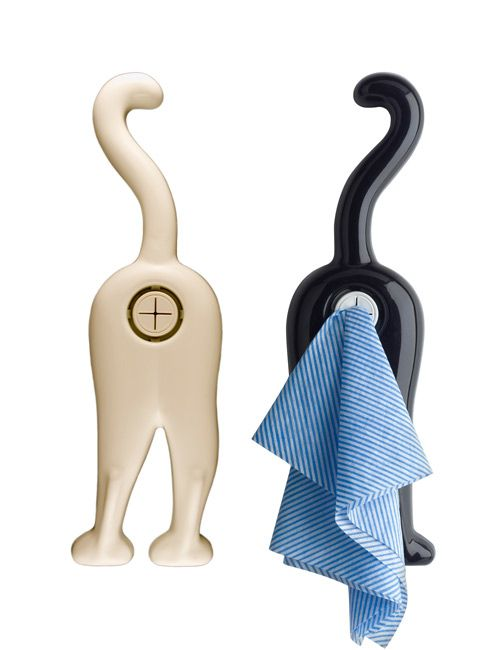 cat butt towel holder ...why dho