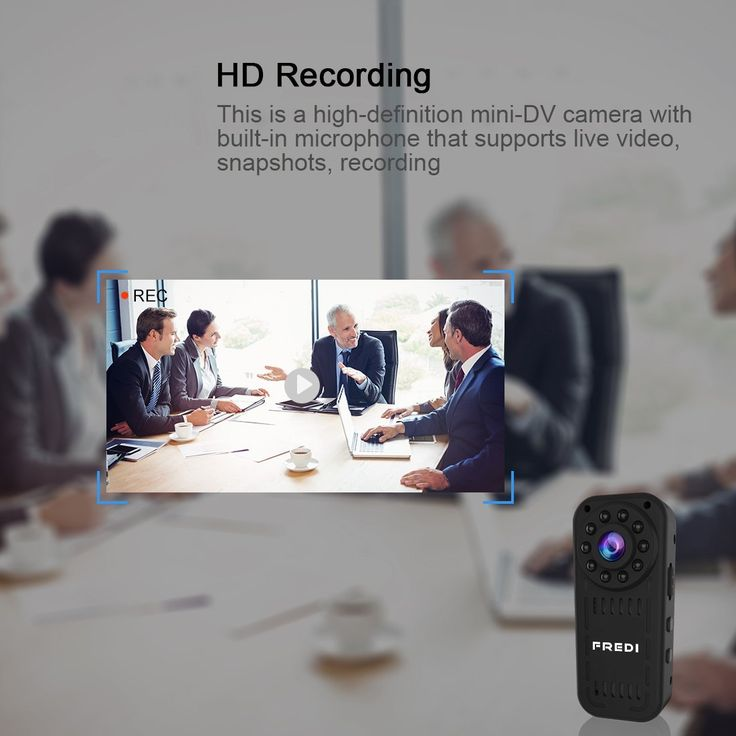 Amazon.com : FREDI hidden camera 1080p HD mini wifi camera spy camera for iPhone/Android Phone/ iPad Remote View with Motion Detection(support 128G SD card) : Camera & Photo http://amzn.to/2gX6OAk