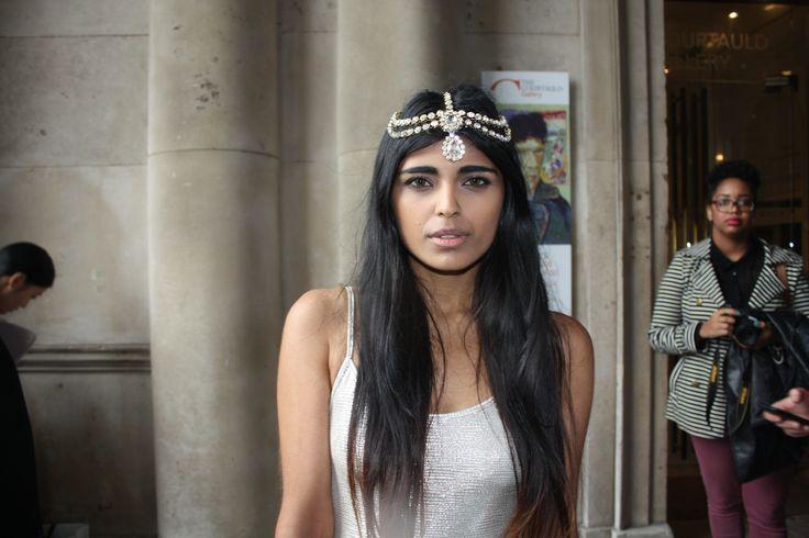 Arabian chic from Kavita.