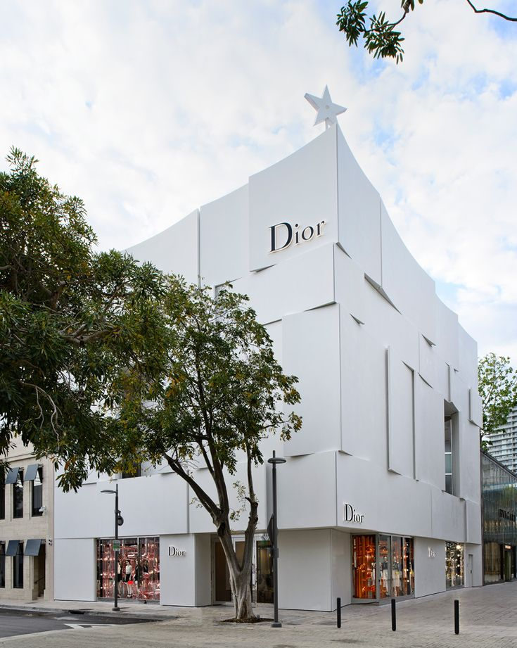 """DIOR,(Design District), Miami, Florida, """"Dedicated to its Women's Collection Only"""",  by Barbarito Bancel Architects, pinned by Ton van der Veer"""