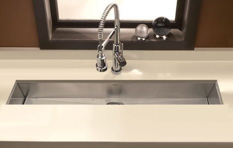 trough kitchen sink 32 quot stainless steel undermount kitchen trough bar sink 2951