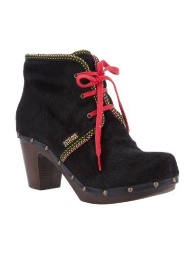 Rare-Penelope-Chilvers-for-Free-People-Iglu-Clog-Boots-Black-40-US-9-9-5-Rt-325