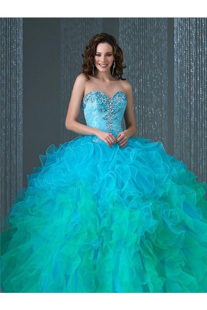 how to make prom dress big ruffle