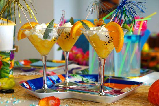 Decorazione per feste hawaiane - Idee per feste
