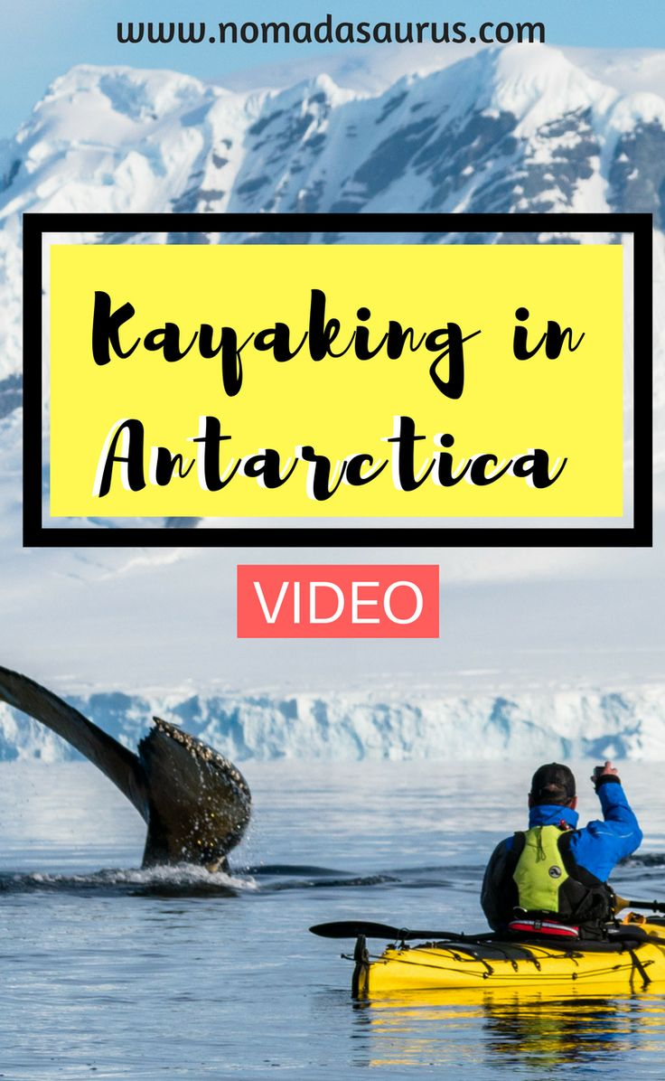 Want to go kayaking in Antarctica? Here is our vlog so you can come along on the journey with us and find out all about it. Put Antarctica on your bucket list. Travel to Antarctica.