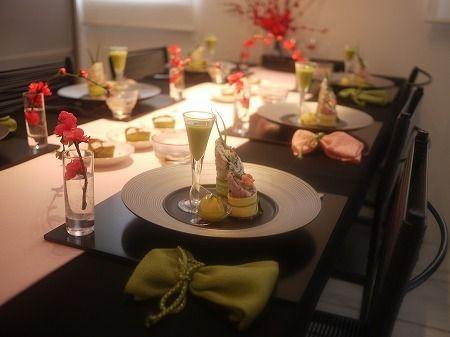 「桃の節句・和モダンランチ&テーブルコーディネート」の画像|MIKOのインテリア&テーブルコーディ… |Ameba (アメーバ)