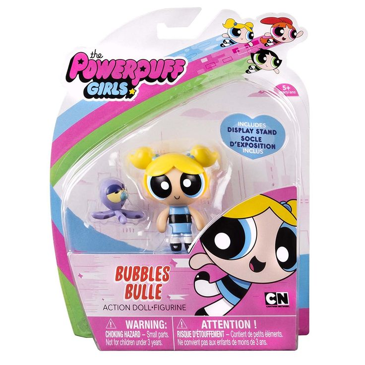 Powerpuff Girls Bubbles Bulle 2 Inch Action Figure