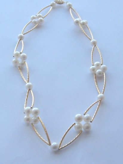 An Elizabethan Twist of Gold: Works With, Bracelet, Wire, Elizabethan Twist, Jewelry Creations