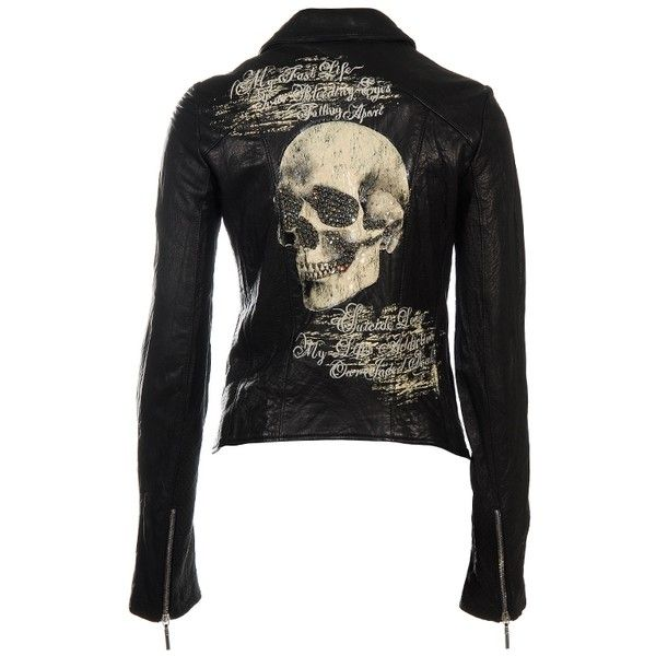 Jaded by Knight ~ skull leather jacket