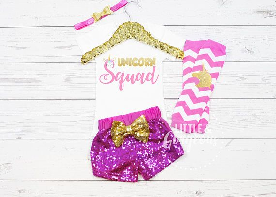 Girls Unicorn Squad Outfit Unicorn Squad Onesie Girl Unicorn
