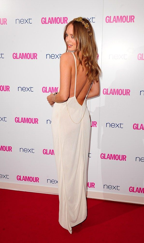 Love Laura Haddock at the 2014 Glamour Women of the Year Awards wearing a @WilliamVintage Alaïa white dress - gorgeous!
