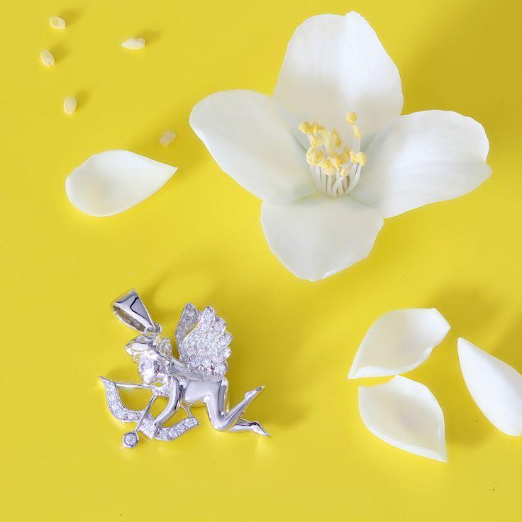 Пусть у каждого в жизни будет свой амурчик. #kazkajewelry #амур #ангел #ювелирныеизделия #ювелирныеукрашения #одесса