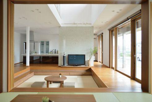 家族がつながる、新しい日本の家 和座