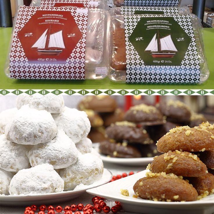 Οι πιο γευστικοί και μυρωδάτοι κουραμπιέδες αυτά τα Χριστούγεννα θα είναι δικοί  σου... φτιαγμένοι με αγάπη και μαστίχα Χίου! Μόνο στο #mastihashop #christmas #delights #traditional #deserts #chios