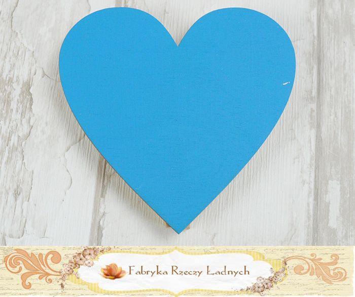 Serce kredowe niebieskie chalkboard