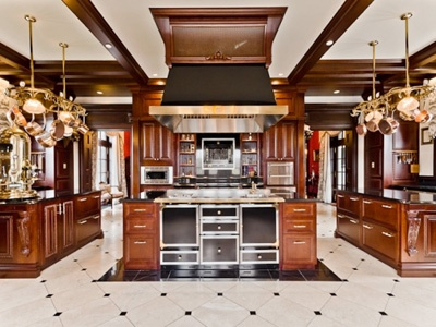 the kitchen inside this 30 million montreal mansion for sale omg is