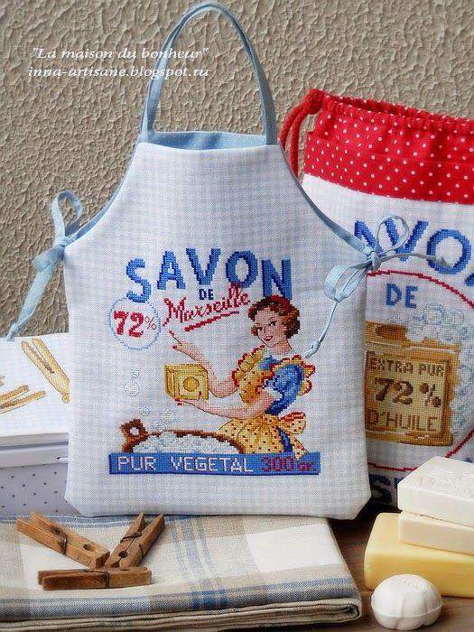 610 best images about cross stitch on pinterest embroidery costura and uni - Union des professionnels du savon de marseille ...
