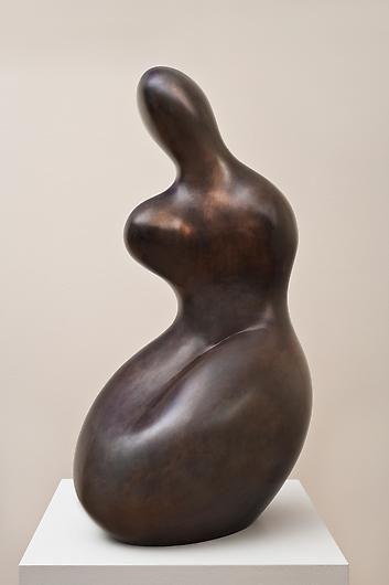 Demeter. / Bronze sculpture.  / By Jean Arp, 1964.