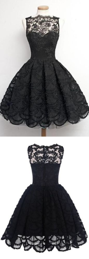 plendid Black Prom Dresses, Short Homecoming Dresses, Sleeveless Prom Dresses, Pleated Homecoming Dresses, Mini Homecoming Dresses 3