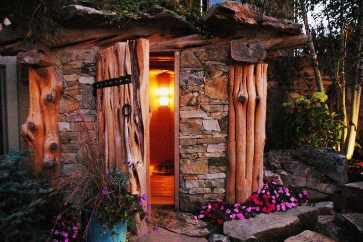 how to build end walls of barrel sauna