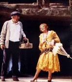 ZORBA:  1983 a revival production opened on Broadway and ran for 362 performances.    Directed by Michael Cacoyannis - Choreography by Graciela Daniele    Starring: Anthony Quinn (Zorba), Lila Kedrova (Mme. Hortense), Robert Westenberg (Nikos), Taro Meyer (Widow), Thomas David (Pavli), Debbie Shapiro, Panchali Null, Suzanne Costallos, Angelina Fiordellisi, Theresa Rakov    Awards: Tony for Best Featured Actress (Lila Kedrova)