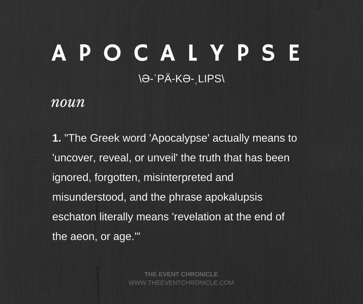 Define: Apocalypse