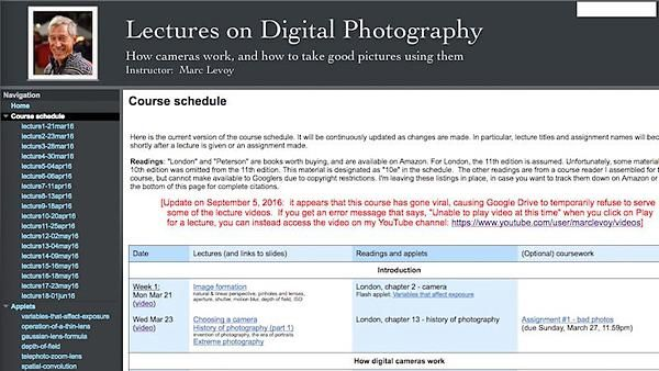 Bargain of the Day: An Entire Stanford University Digital Photography Course Online for Free! | Shutterbug