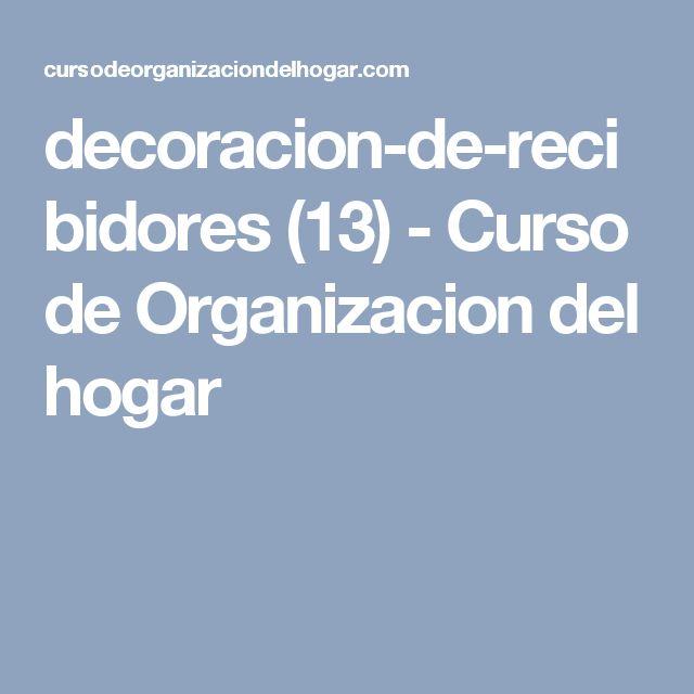 decoracion-de-recibidores (13) - Curso de Organizacion del hogar