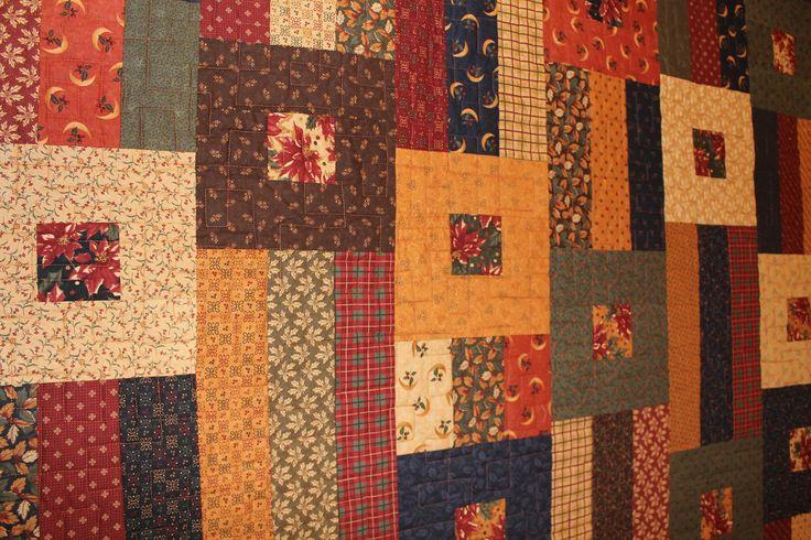 2015 Detail of Queen size quilt