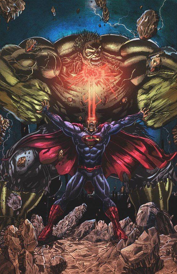 """Hulk. Use your WORDS."" ""HULK _________!"" Art by Stéphan Lemineur #hulk…"