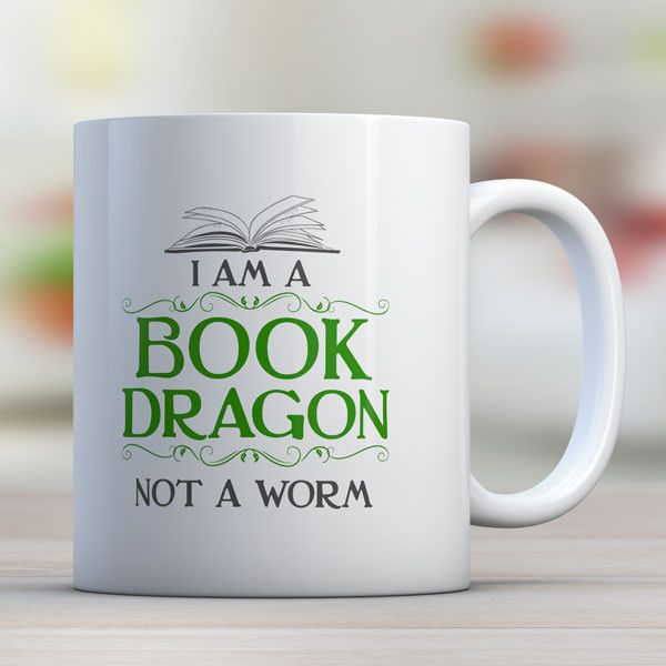 I Am A Book Dragon Not A Worm - Awesome Librarians