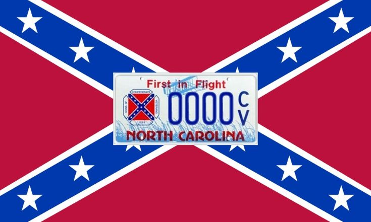 Should McCrory Remove The Confederate Flag From NC License Plates?