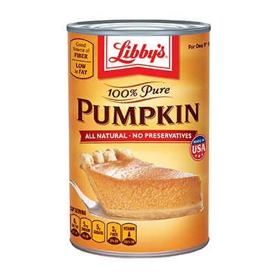Libby's Pumpkin Pie Recipe - Has been on the labels since 1950.  LIBBY'S® 100% Pure Pumpkin -