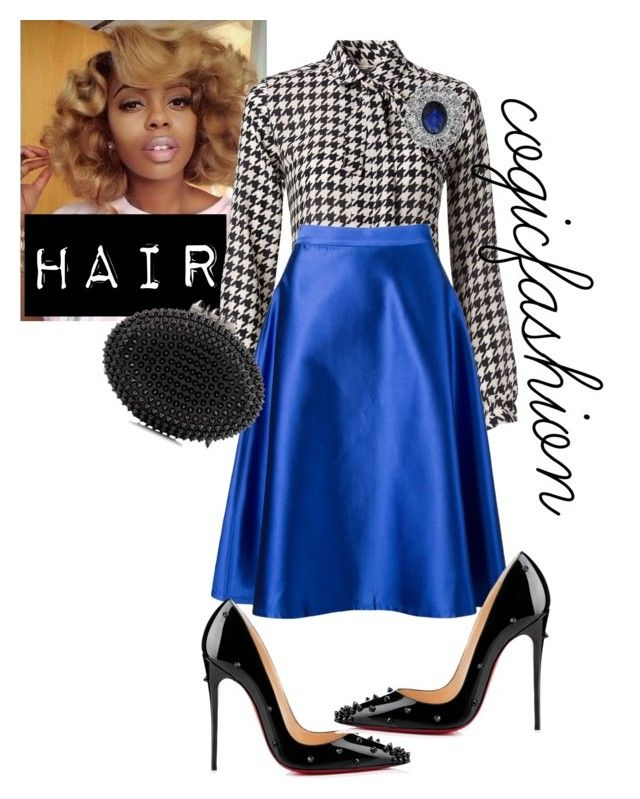 """""""Sunday Morning!"""" by cogic-fashion ❤ liked on Polyvore featuring Tommy Hilfiger, Vitorino Campos and Christian Louboutin"""