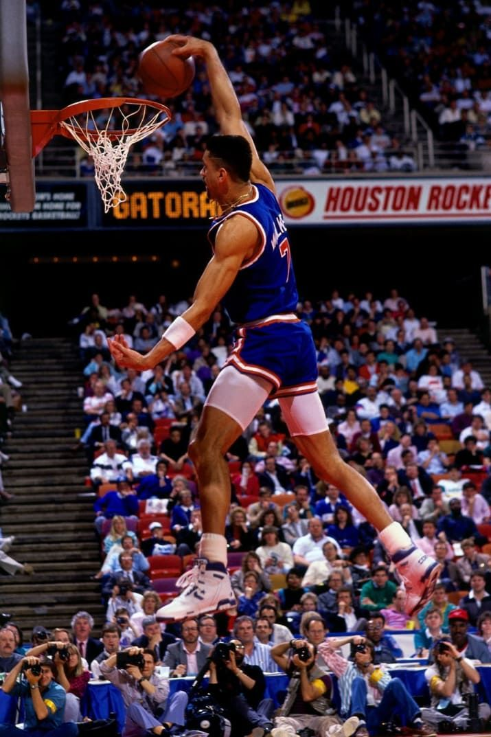 "Kenny ""Skywalker"" in the 1989 Nba Slam Dunk Contest"