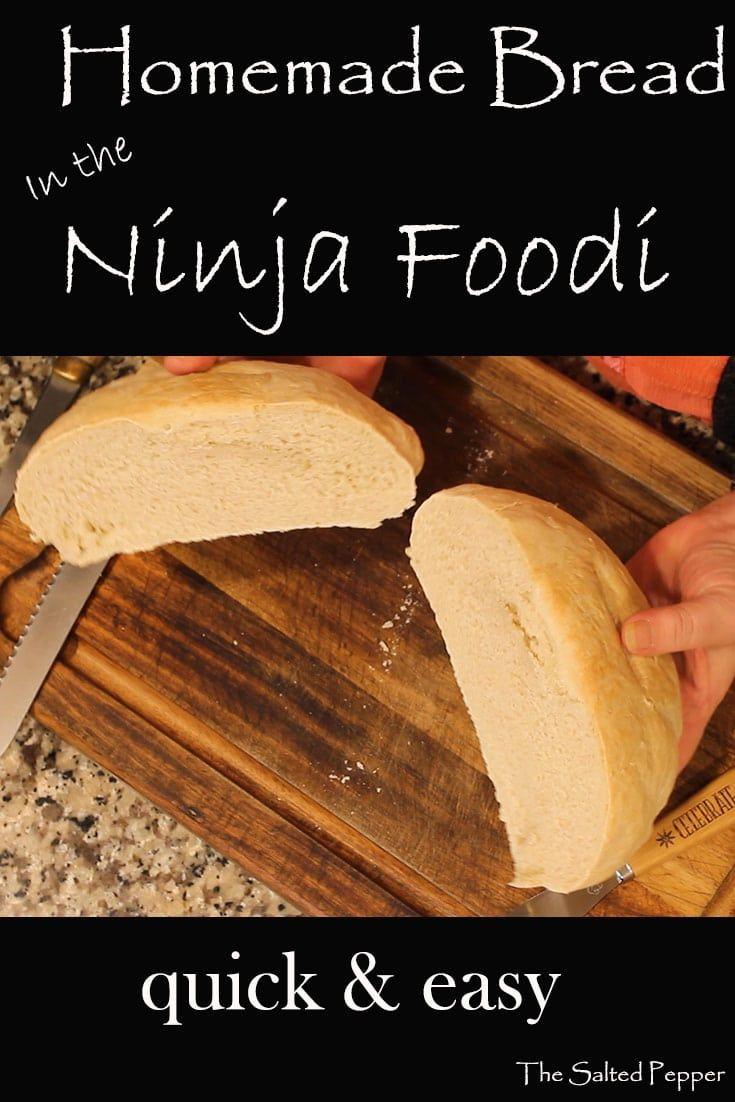 Selbstgebackenes Brot muss nicht zeitaufwändig oder schwierig sein. Hier ist eine einfache t …   – Ninja cooking system recipes