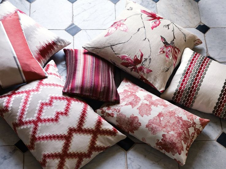 Romo (@Romo_Fabrics)  A festive selection of cushions from our Danton collection